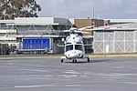Helicorp (VH-TJF) Agustawestland AW139 taxiing at Wagga Wagga Airport.jpg