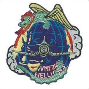 VMF-218 - Alternate squadron logo.