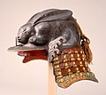 Helmet in the Shape of a Crouching Rabbit MET DT304716.jpg