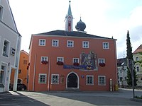 Hemau Oberpfalz - altes Rathaus.JPG