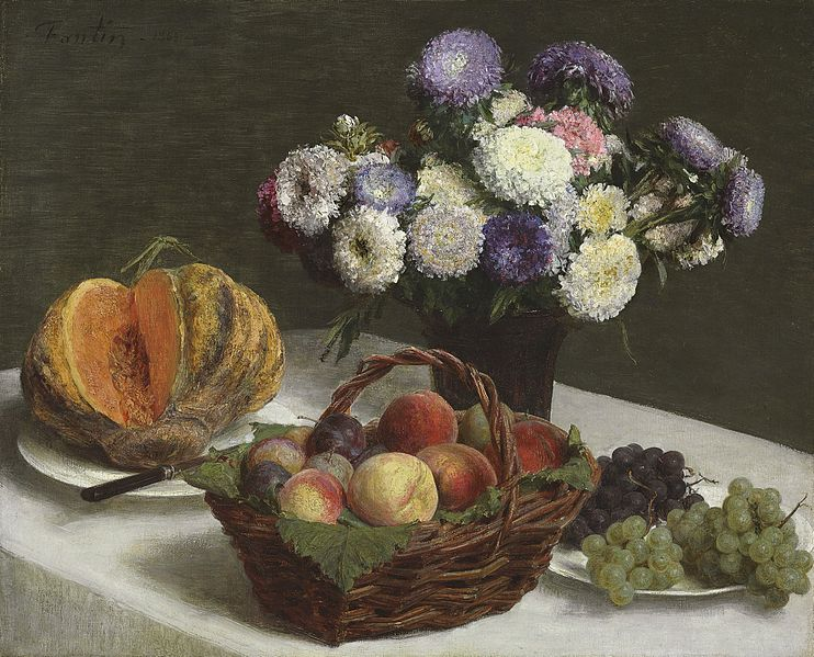 File:Henri Fantin-Latour - Fleurs et fruits, 1865.jpg