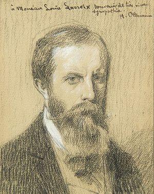 Henri Ottmann - Henry Ottmann, self-portrait c.1914