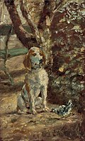 Henri de Toulouse-Lautrec - The Artist's Dog Flèche - 1970.17.84 - National Gallery of Art.jpg