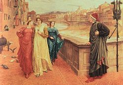Henry Holiday - First Meeting Of Dante and Beatrice.jpg