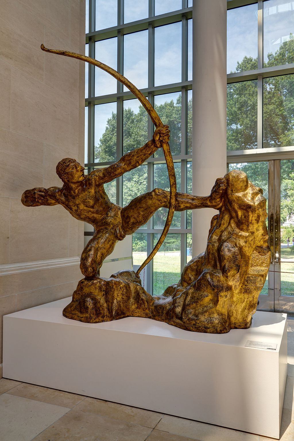 """Hercules the Archer"" by Antoine Bourdelle"