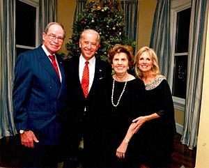 Herb Klein (politician) - Klein and wife Jacqueline with Vice President Joe Biden and Second Lady Jill Biden