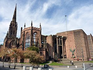 Coventry Cathedral - Image: Herbert Backstage Pass cmglee 02