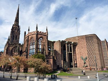 coventry cathedral cathedral church of st michael Canterbury Cathedral Gothic Architecture