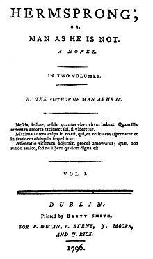 Image result for robert bage novelist hermsprong