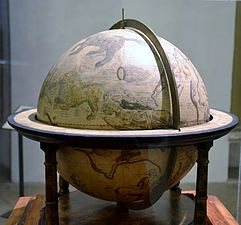 The celstial globe of Mercato