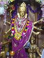 Hinglaj Mata idol at Kadasar.jpg