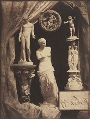 Still Life with Statuary and Drapery