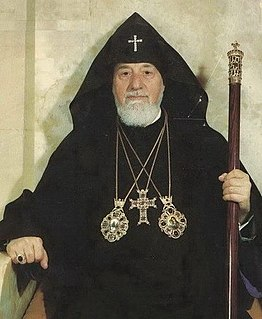 Vazgen I Catholicos of the Armenian Apostolic Church