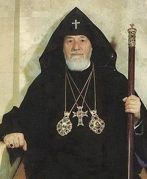 Vazgen I - Image: His Holiness Vazgen I