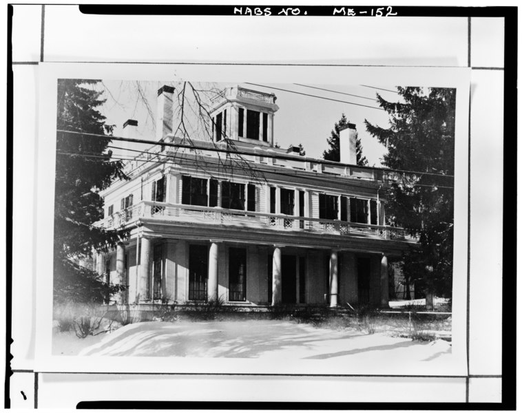 Front Elevation Of House In America : Datei historic american buildings survey s e cobbs
