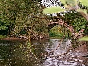 River Annan - Hoddom Bridge