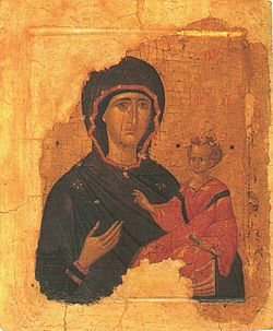 Hodegetria - Byzantine Empire - 15th century.JPG
