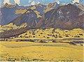 Hodler - Ansicht des Fromberghorns von Reichenbach aus - 1903.jpeg