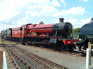 GWR 4900 Class 5972 Olton Hall - No. 5972 at the National Railway Museum, York