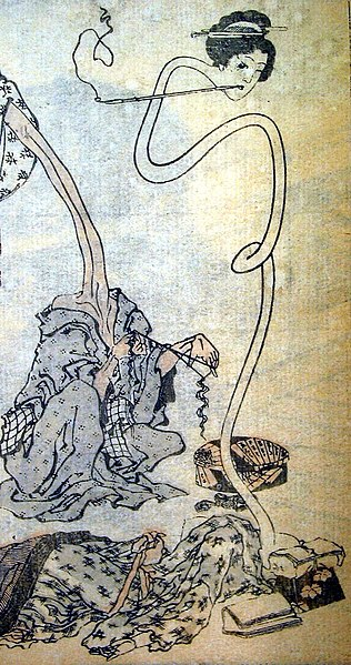 File:Hokusai rokurokubi.jpg