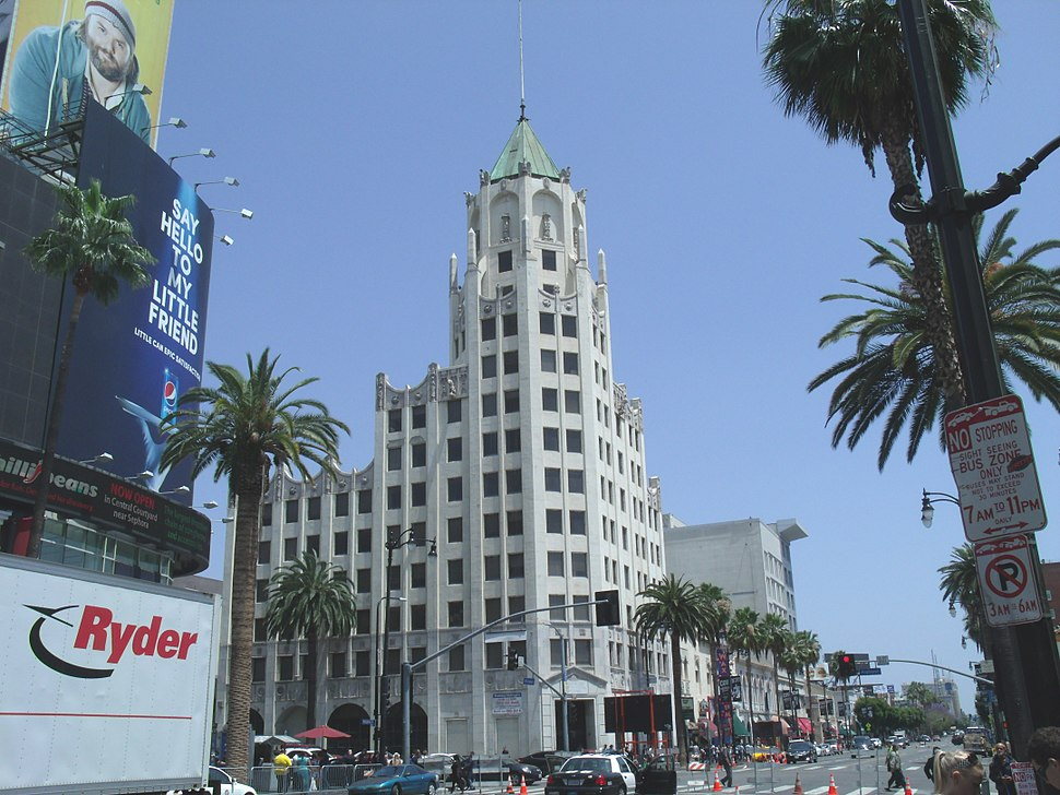 Hollywood, Ca.-First National Bank Building-1927