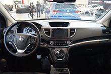 Rdx Vs Crv >> Honda CR-V - Wikipedia