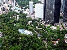 Hongkong-Historia-Fil:Hong Kong Park Overview 2009