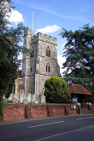 Woking - St Mary's Church, Horsell