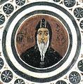 Hosios Loukas Crypt (south east groin-vault) - Holy father Luke.jpg