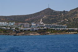 Hotel in Elounda - view from the sea.jpg