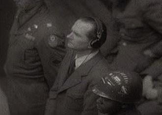 Hubert Lanz - Hubert Lanz at the Nuremberg Trials