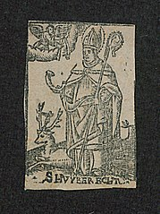 Saint Hubertus with a stag