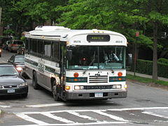 all american fe in use as transit bus