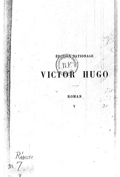 File:Hugo - Les Misérables Tome I (1890).djvu