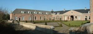 Huis Honselaarsdijk - Courtyard of De Nederhof