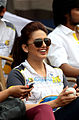 Huma Qureshi at Celebrity Cricket League, 2014.jpg