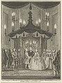 Huwelijk van Willem V, prins van Oranje-Nassau, met Wilhelmina van Pruisen te Berlijn op 4 oktober 1767, RP-P-1944-2059.jpg
