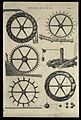 Hydraulics; six different kinds of waterwheel, used for lift Wellcome V0024610ER.jpg