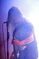 Hypocrisy, Peter Tägtgren at Party.San Metal Open Air 2013 05.jpg