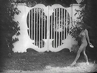 "The Hypocrites (1915 film) - Margaret Edwards as ""Naked Truth"" in Hypocrites."
