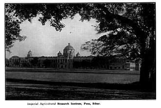 Indian Agricultural Research Institute - Imperial Agricultural Research Institute, at its original location Pusa, Bihar, circa 1927