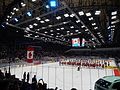 IIHF16WC - Canadian anthem after the opening Saint Petersburg match USA v CAN.JPG
