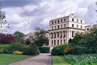Chester Terrace - Image: II Chester Terrace, London, UK
