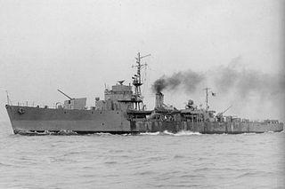 Type D escort ship