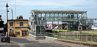 Blackrock railway station - Image: IMG Blackrock Station 1493c