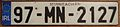 IRELAND, COUNTY MONAGHAN, 1997 -LICENSE PLATE - Flickr - woody1778a.jpg