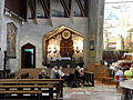 ISRAEL, Nazareth Catholic Church Annunciation (the Cross of Jerusalem).JPG