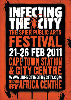 Infecting the City - The poster for Infecting the City 2011 supporting its theme of Treasure