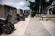 I bastioni della Fortaleza do Monte a Macao.jpg