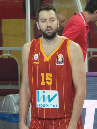 Ian Vougioukas - Vougioukas with Galatasaray, in November 2014.